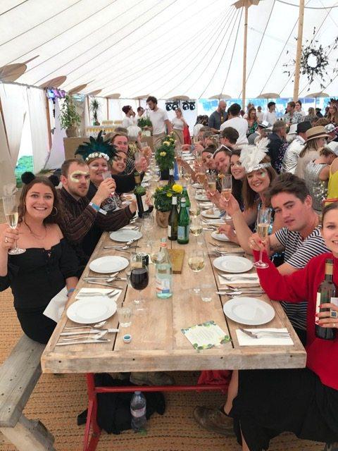 Wilderness festival: Banquet