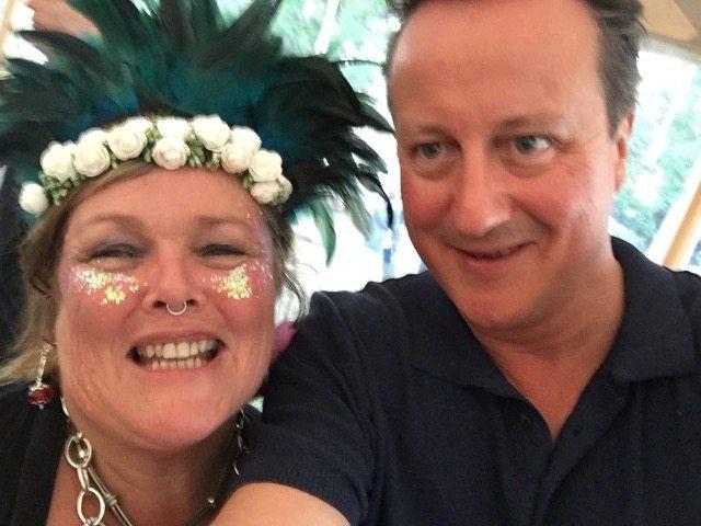 Wilderness Festival: David Cameron