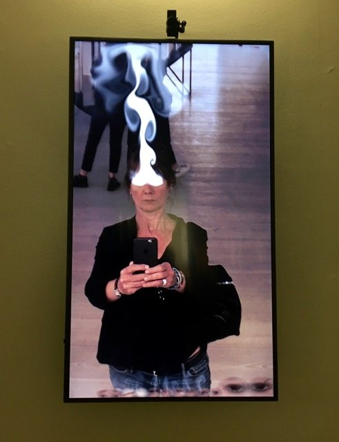 Saatchi Gallery Selfie exhibition