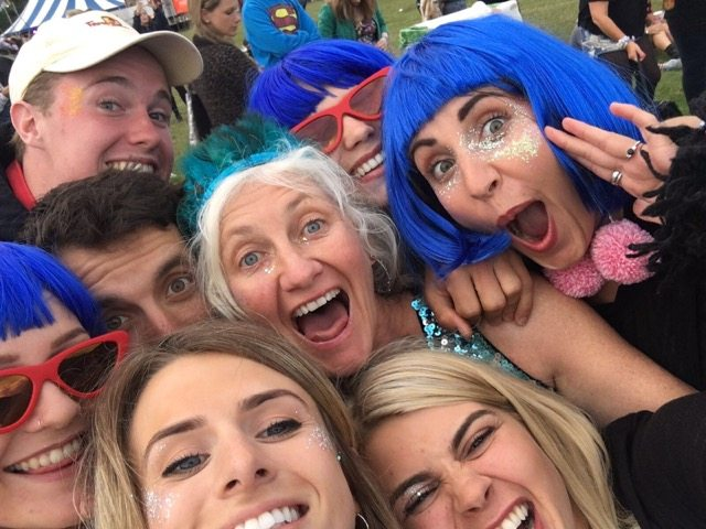 Wilderness Festival: selfie