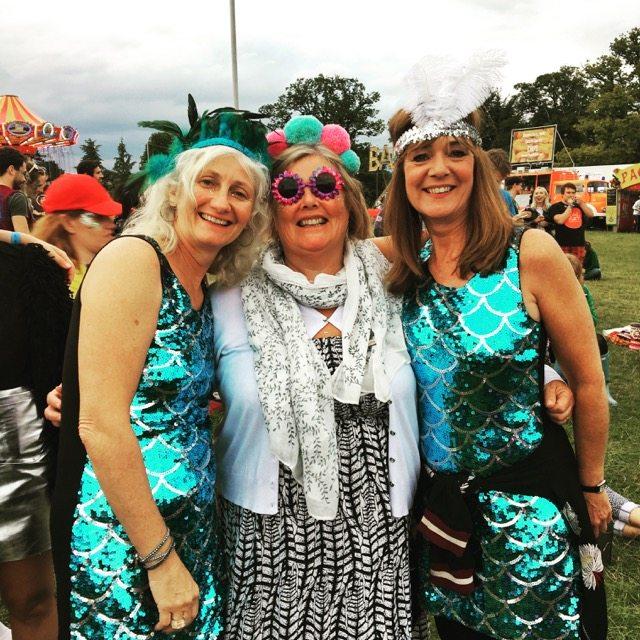 Wilderness Festival: 3 of us