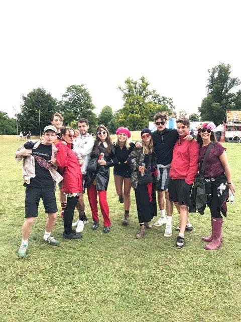 Wilderness festival: The team