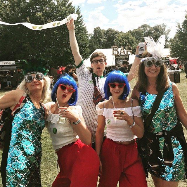 Wilderness festival: Twin day