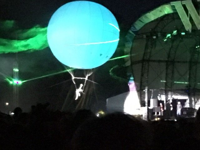 Wilderness Festival: astronaut