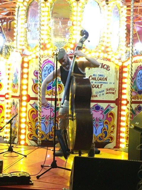 Wilderness Festival: cellist