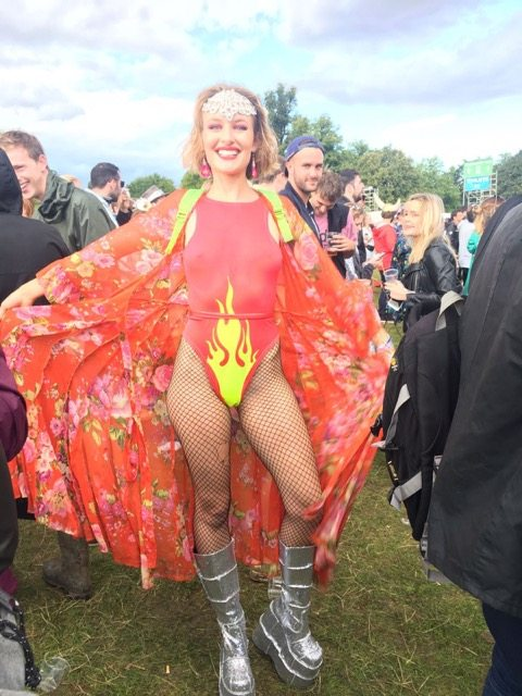 Wilderness festival : Glamour pussy
