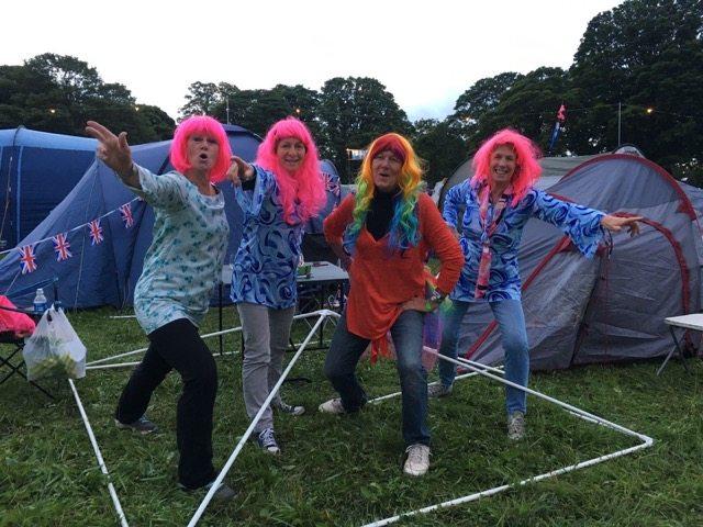 Wilderness festival: the girls