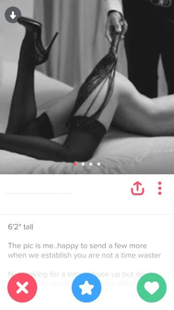 Tinder sex blog
