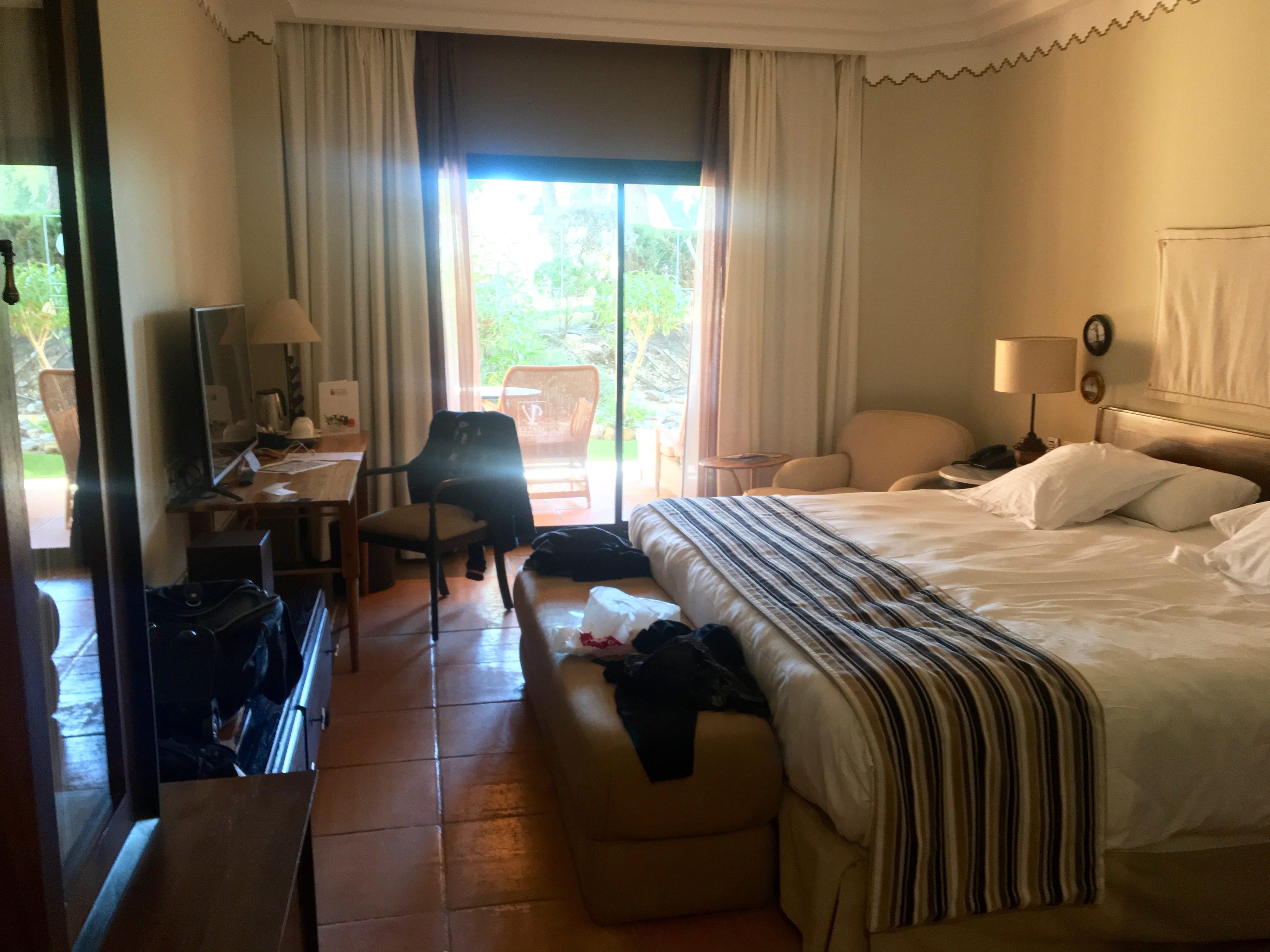 Vincci hotel bedroom - Estrella del mar hotel ...