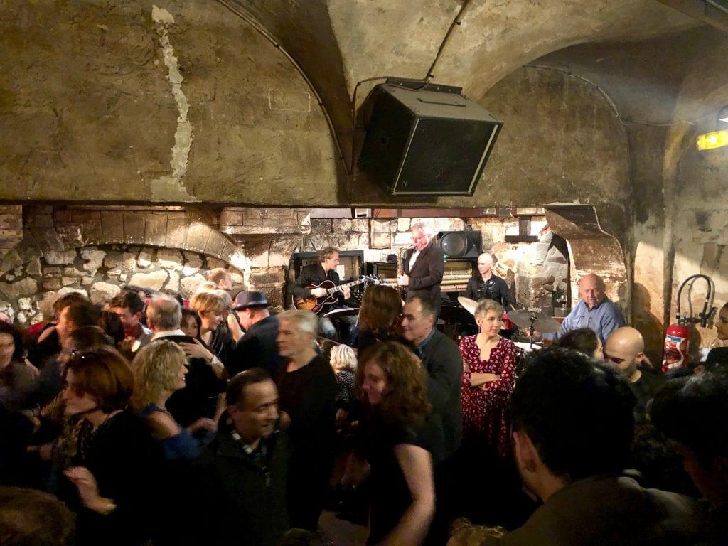 Le Caveau de la Huchette dancing