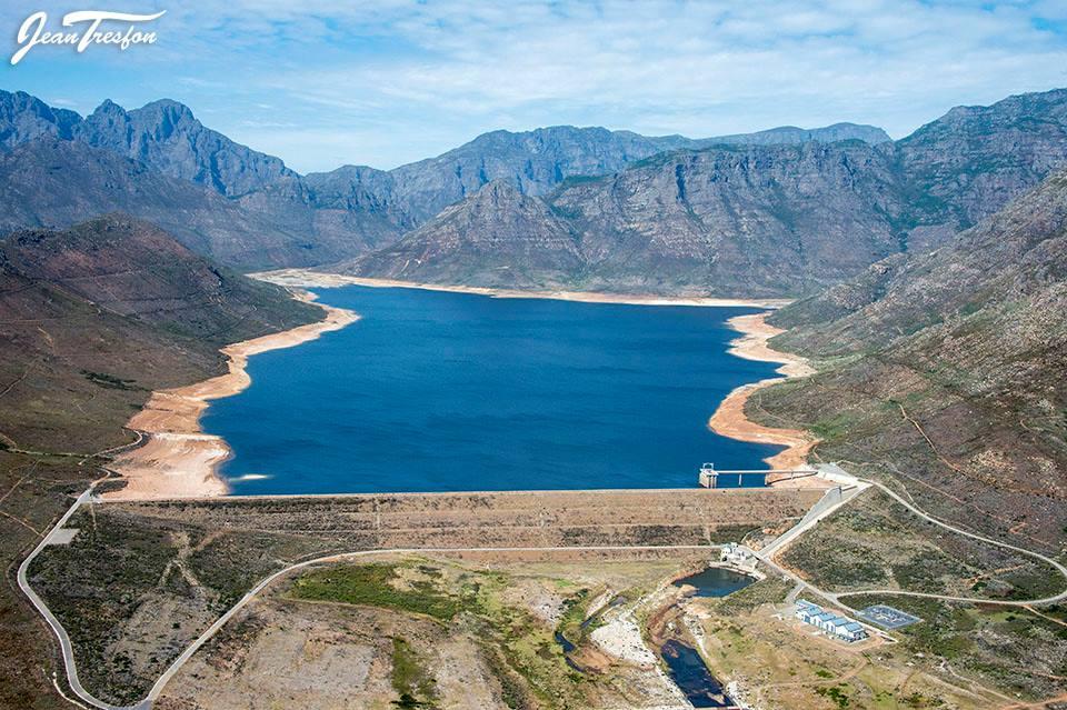 Berg River - all just under 50% capacity