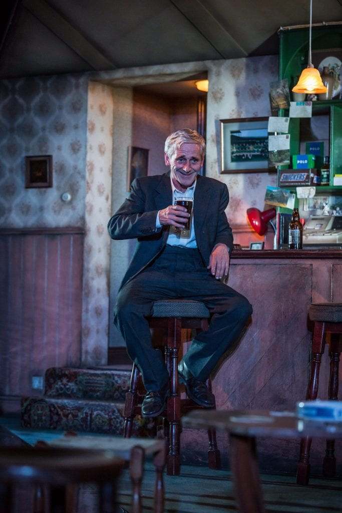 Sean Murray (Jack) - The Weir - Photography by Marc Brenner
