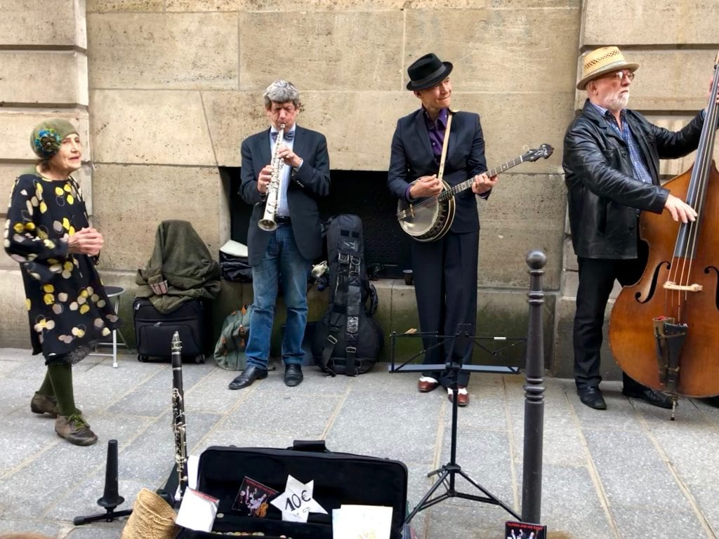 French street band