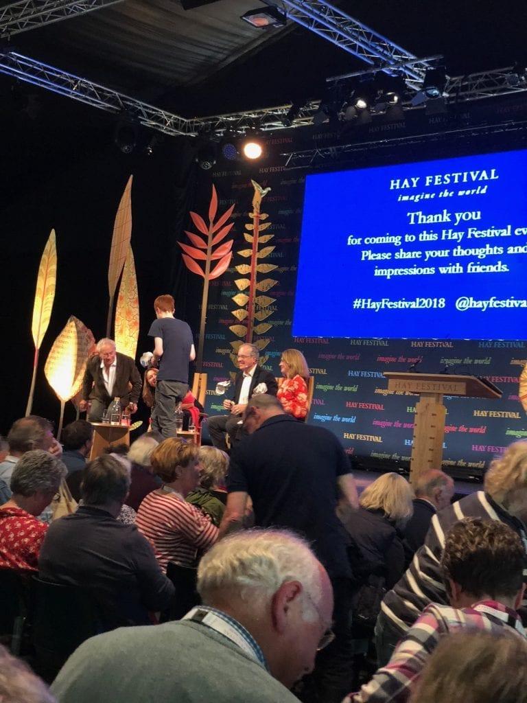 Brexit talk Hay Festival