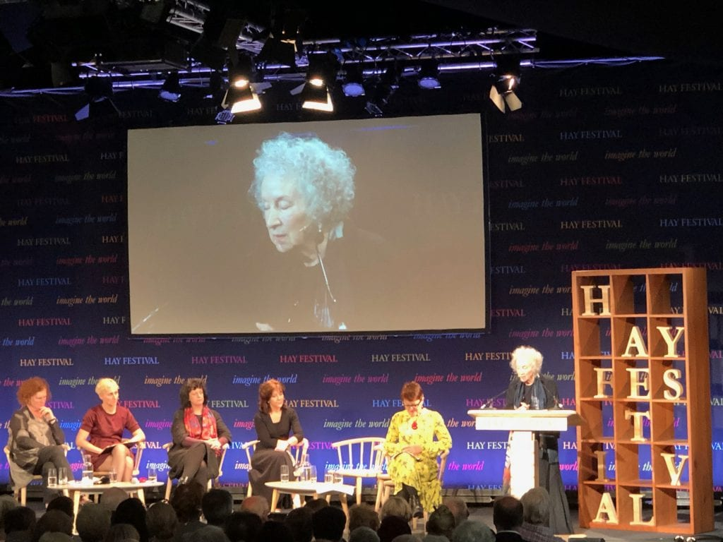 Margaret Atwood Hay Festival