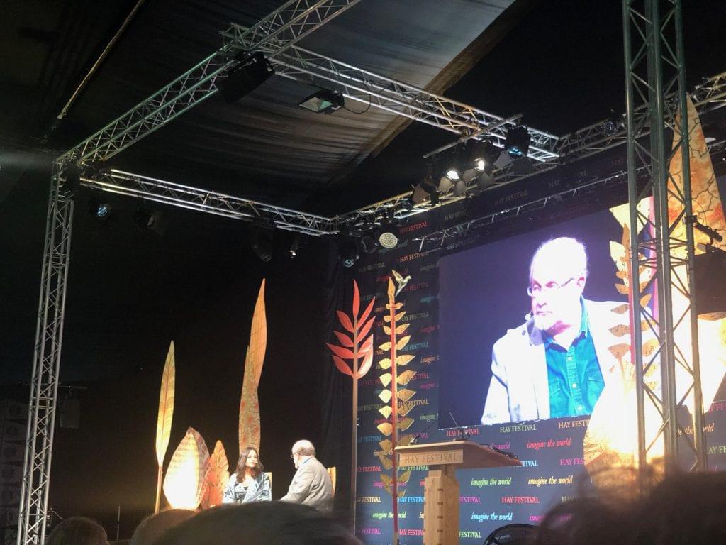 Salman Rushdie Hay Festival