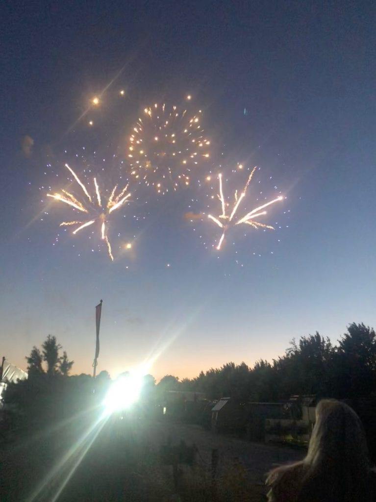 Hampton Court Flower show fireworks
