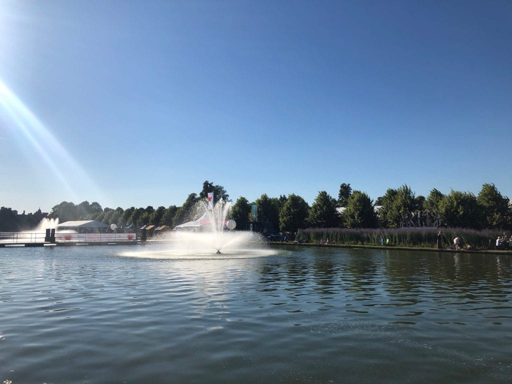 Hampton Court Flower show fountain